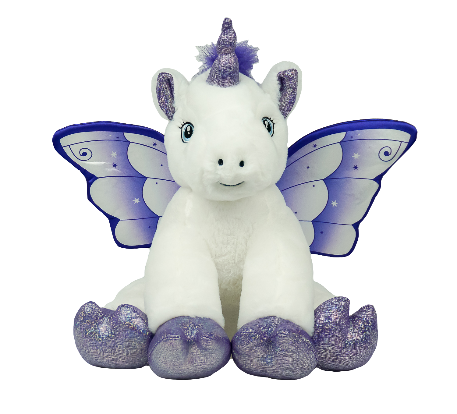 60865 - 16 Inch - Crystal The Unicorn - Kit or Stuffed - Standard Name