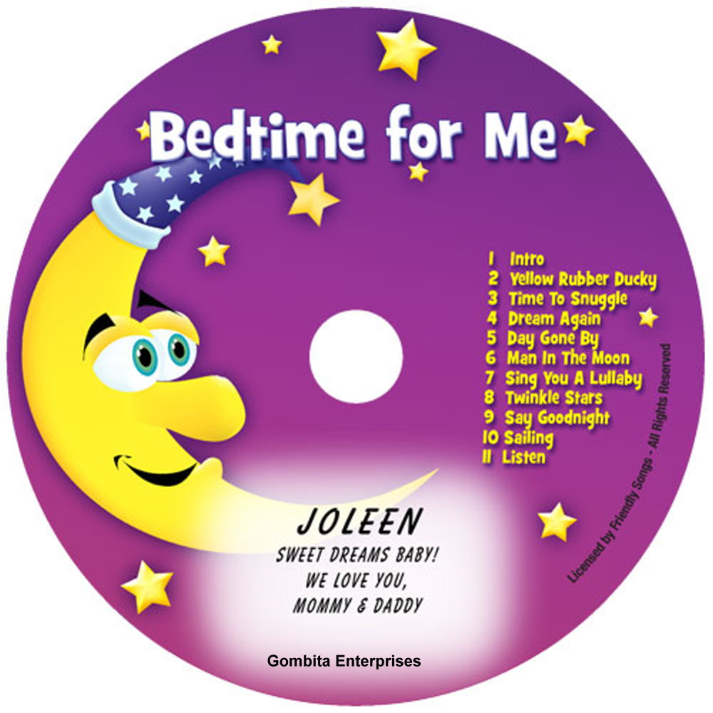 Friendly Songs Bedtime For Me - CD
