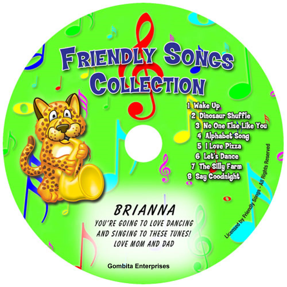 Friendly Songs® Collection - CD