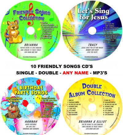 FRIENDLY SONGS CD'S