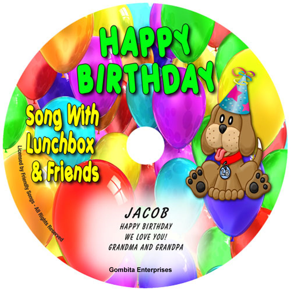 Friendly Songs® Happy Birthday Song - CD