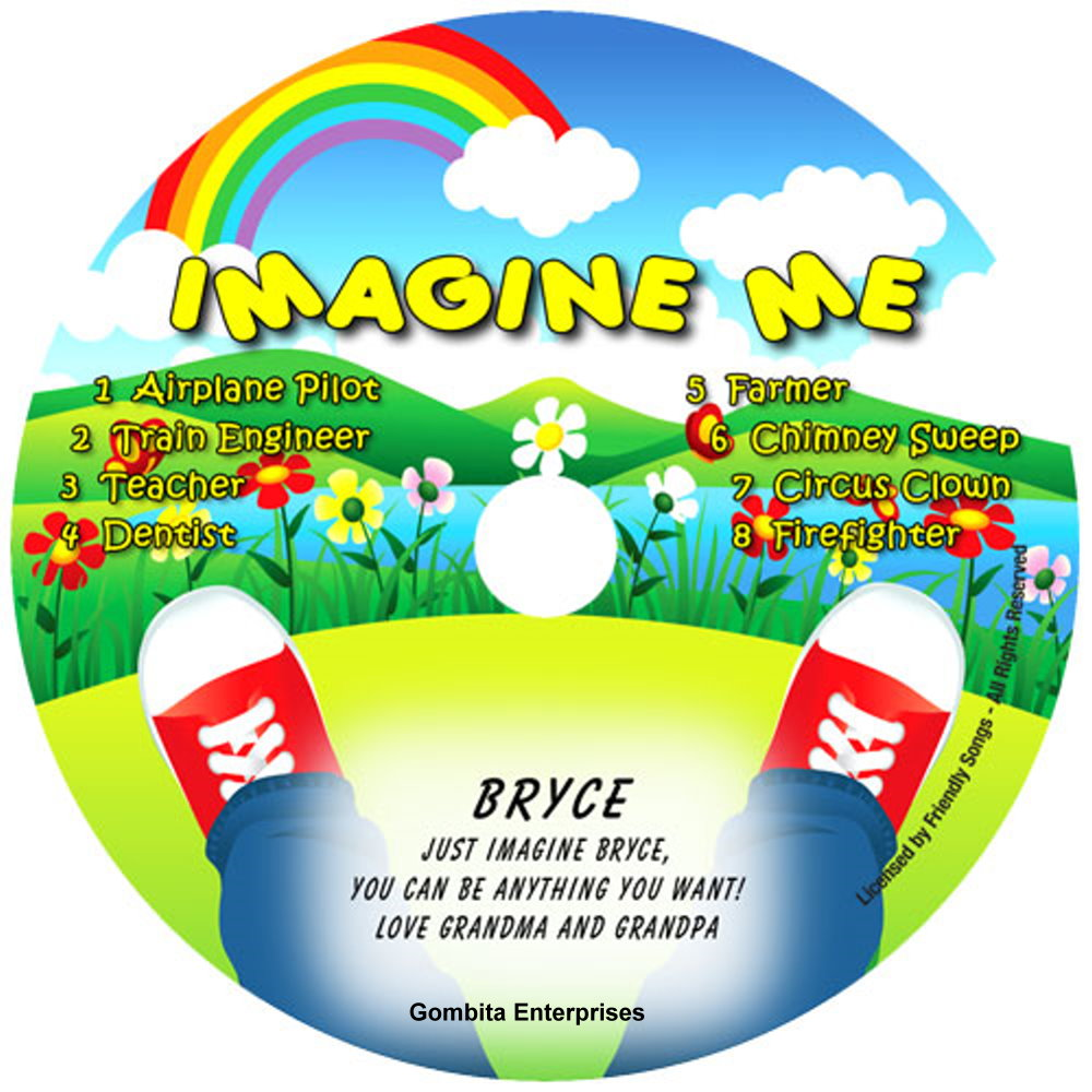 Friendly Songs® Imagine Me - CD