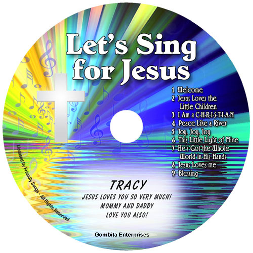 Friendly Songs® Let's Sing For Jesus - CD