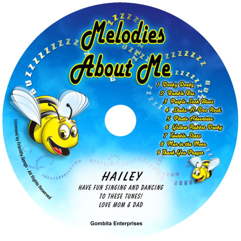 Friendly Songs® Melodies About Me - CD