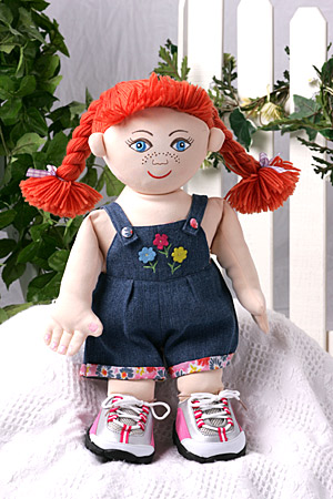 "19 "" Red Head Stuffed or UN-Stuffed Doll"