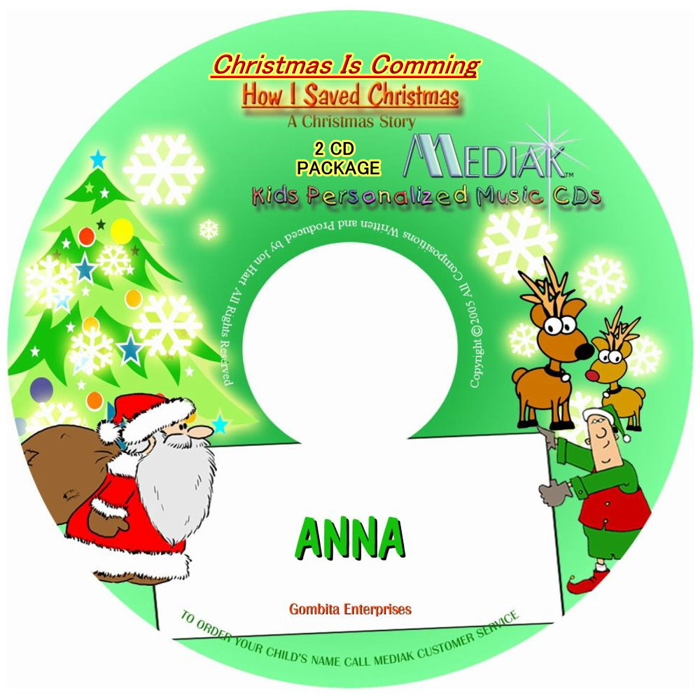 Christmas Is Coming & How I Saved Christmas (Double Play) - CD & MP3 Download