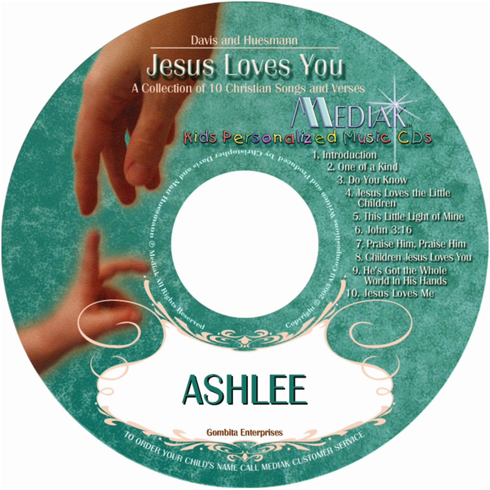 Jesus Loves You - CD & MP3 Download