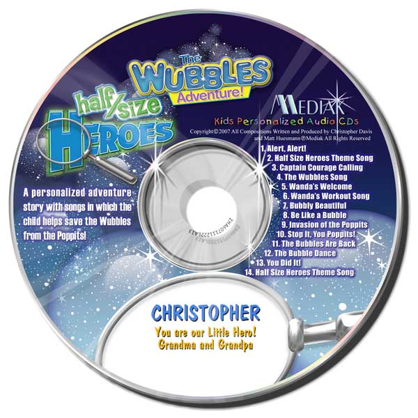 The Wubbles Adventure - CD & MP3 Download