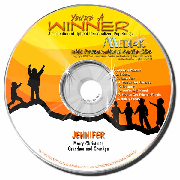 You're a winner cd & mp3 download.