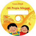 (Spanish) Mi Propia Musica - My Very Own Music - CD & MP3 Download