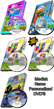Mediak Name Personalized DVD