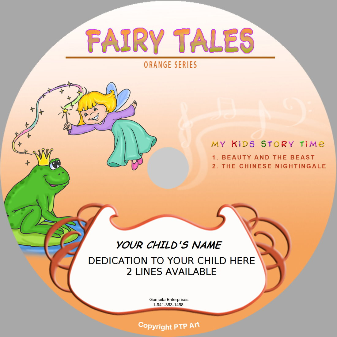 Fairy Tales (Orange) - My Kids Songs - CD Disk & MP3 Download