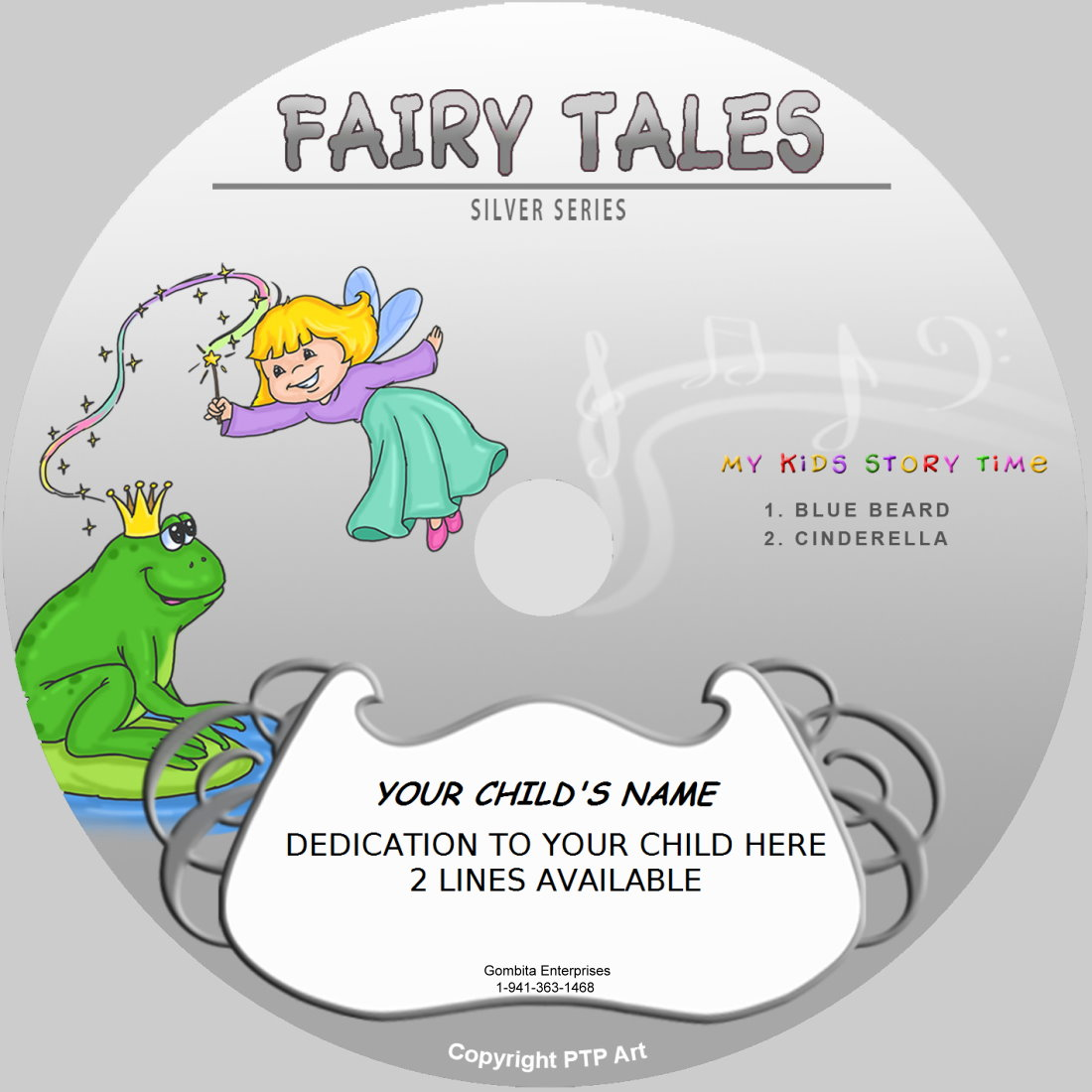 Fairy Tales (Silver) - My Kids Songs - CD Disk & MP3 Download