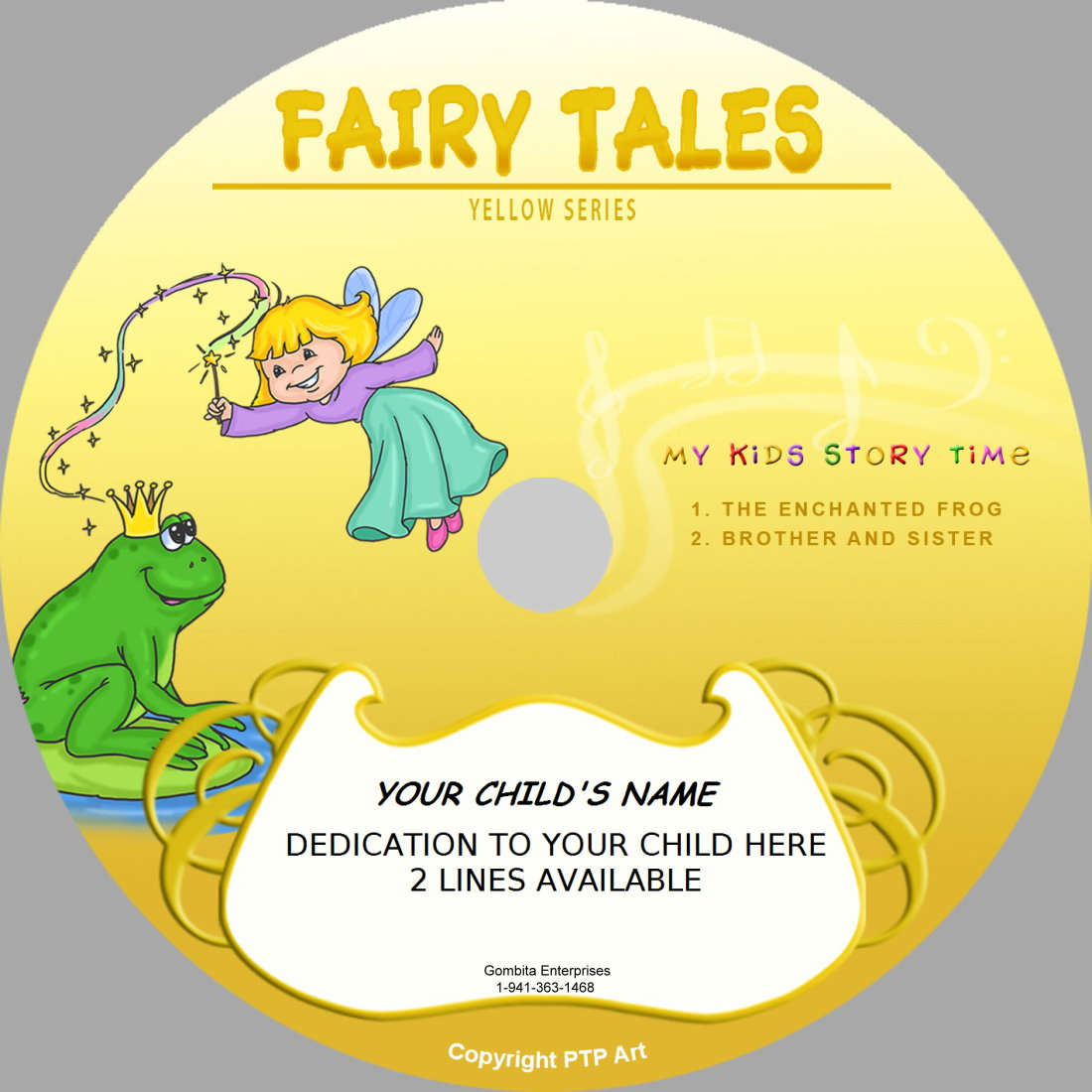 Fairy Tales (Yellow) - My Kids Songs - CD Disk & MP3 Download